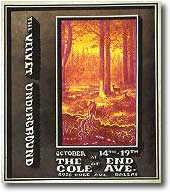 Poster, End of Cole Ave, Oct. 14-19, 1969