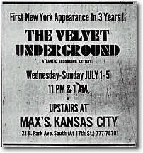 Ad - The Village Voice - July 2, 1970