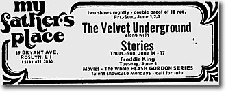 Ad | The Village Voice | May 31, 1973